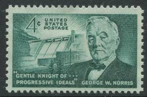 STAMP STATION PERTH USA #1184  MLH OG 1961  CV$0.25.