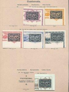 Peru Uruguay Brazil Guatemala P.Rico  Early M&U Mixture(50+Items) (MR292