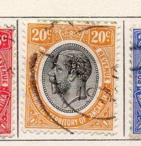 Tanganyika 1927 Early Issue Fine Used 20c. 269600