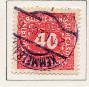 Austria 1916 Early Issue Fine Used 40h. NW-58039