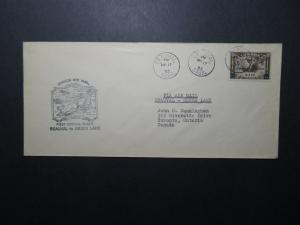 Canada 1933 Beauval to Green Lake First Flight Cover - Z11262
