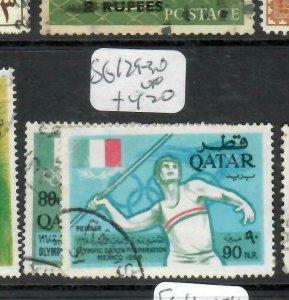 QATAR   (PP0106BB)  OLYMPICS   SG 129-130    VFU