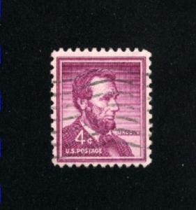 USA #1036  4 used 1954-1968 PD .08