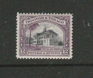 Trinidad & Tobago 1935/7 Defs P12, 12c MM SG 235