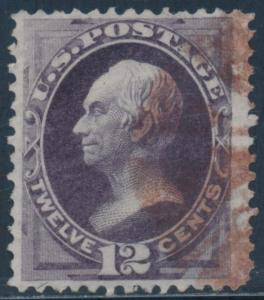 #162 VF+ USED WITH RED CANCEL CV $140 BT1592