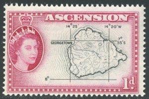 Ascension Scott 63 Unused FHOG - Map of Ascension - SCV $2.75