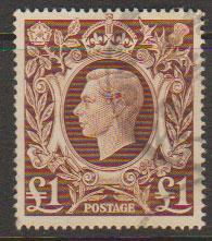 GB George VI  SG 478c Used