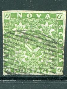 Nova Scotia  #4  Used  F-VF