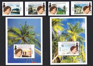 Nevis 40th Anniversary of Queen Elizabeth II's Accession 4v+2 MSs SG#655-MS659