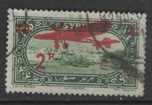 Syria  Scott C45 Used Airmail stamp
