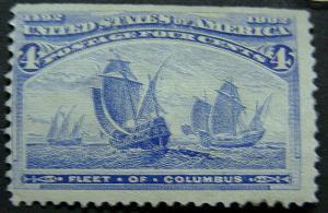 U. S. 233 Mint FVF SCV$65.00 Low Start