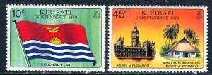 Kiribati; 1979: Sc. # 325/326: **/MNH Cpl. Set