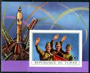 1972 Chad 456/B31b Soyuz 11 - Cosmonauts 20,00 €