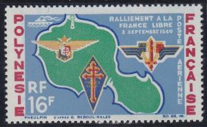 French Polynesia C31 MNH (1964)