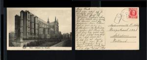 1929 - Belgium Picture postcard - Collegiale Ste Waudru - Mons [B02_128]