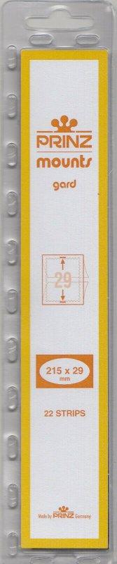 PRINZ 215X29 (22) BLACK MOUNTS RETAIL PRICE $7.99