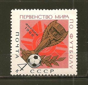 Russia 3213 World Cup Soccer MNH