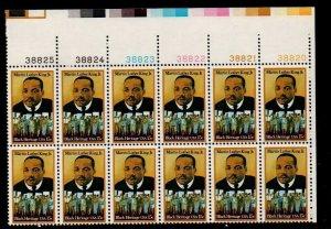 ALLY'S US Plate Block Scott #1771 15c Martin Luther King - MLK [12] MNH [W-46b]