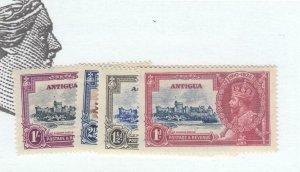 ANTIGUA  # 77-80 VF-MNH 1935 KING GEORGE V SILVER JUBILEE-SET#2 CAT VALUE $22