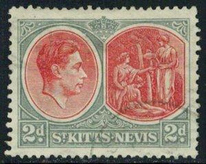 Saint Kitts-Nevis Scott 82 Used.