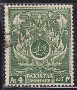Pakistan 58 Moslem Leaf 1951
