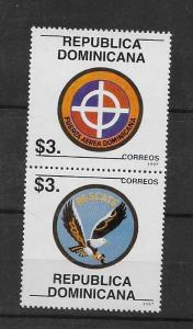 DOMINICAN REPUBLIC STAMP MNH #ABRIL3