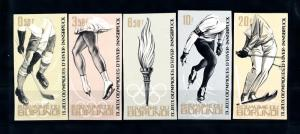[43526] Burundi 1964 Olympic games Innsbruck Icehockey Imperforated MNH