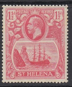 ST. HELENA, Scott 81, MHR