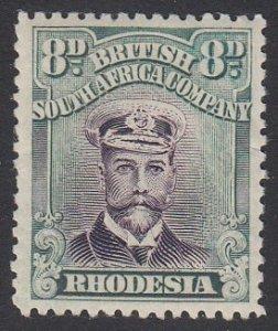 Rhodesia 128 MH CV $19.00