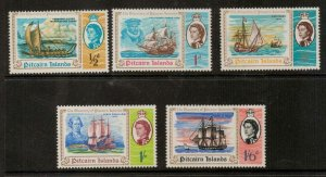 PITCAIRN ISLANDS SG64/8 1967 DISCOVERY OF PITCAIRN MNH