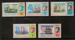 PITCAIRN ISLANDS SG64/8 1967 BICENTENARY OF DISCOVERY OF PITCAIRN ISLAND MNH