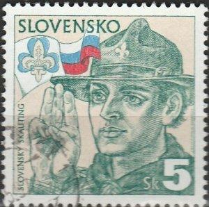 Slovakia, #215  Used , From 1995,  CV-$0.30