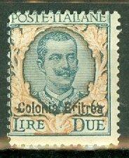 Eritrea 31 mint CV $87.50