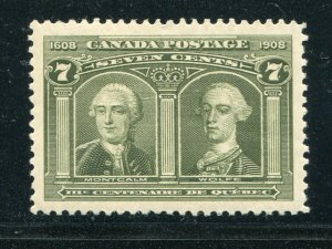 Canada #100   Mint    XF    - Lakeshore Philatelics