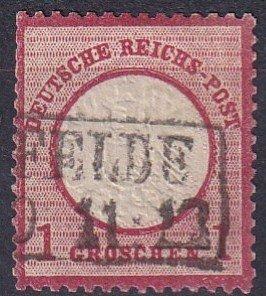 Germany #17   Used  CV $5.50  (Z2853)