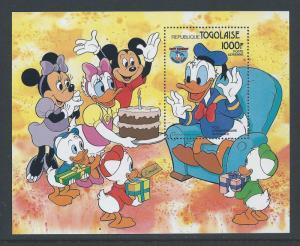 Togo #1239 NH Disney Donald Duck SS