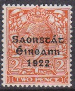 Ireland 1922 Scott 47 King George V MNH