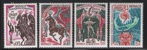 Monaco 1974 Circus Festival set Sc# 920-26 NH