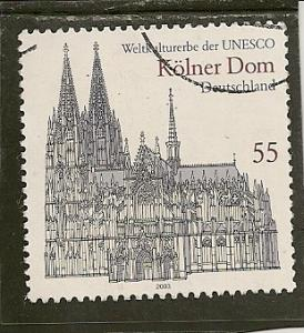 Germany Scott   2232  Cathedral    Used