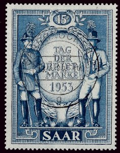 French SAAR Attractive SC#247 Used VF hr....Grab a Bargain!