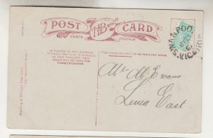 VICTORIA, SWANPOOL cds., 1907 ppc. A Fairy Dell.1/2d. to Lima East.