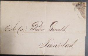 O) 1877 CIRCA - CUBA. SPANISH ANTIILLES, KINGO ALFONSO XII - ULTRAMAR, BISECT