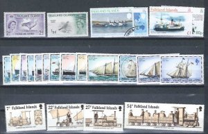 FALKLAND ISLANDS MINT GROUP SCV $25.70 AT A LOW PRICE