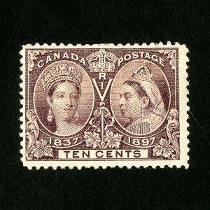Canada Stamps # 57 VF OG Hinged Catalog Value $160.00
