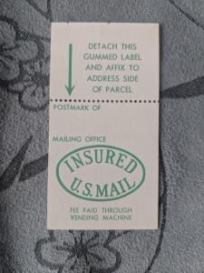 U.S. Q14-PP13 Postal Insurance, VFNH, CV $10