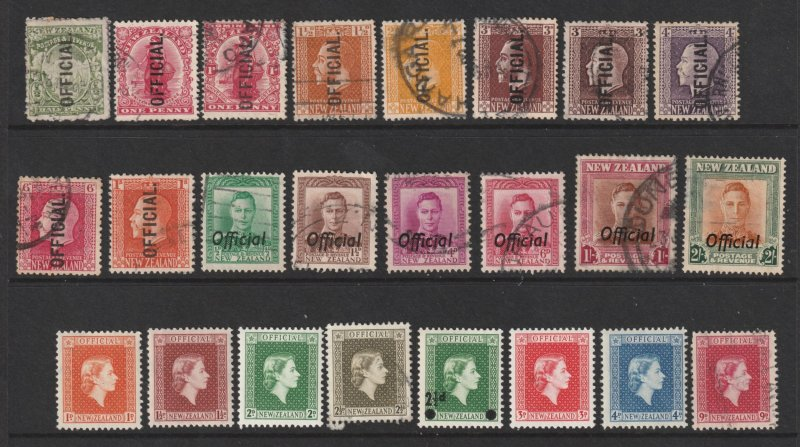 New Zealand a good lot of used Officials