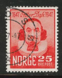 Norway Scott 290 used 1947 stamp