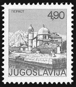 Yugoslavia SC 1251 * Perast Mosque * MNH * 1976