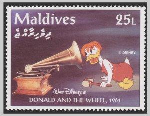 MALDIVES DISNEY STAMP. UNUSED. # 3