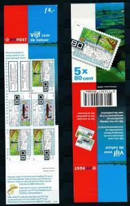 [17387] Netherlands Niederlande 2000 Insects Booklet MNH NVPH PB63